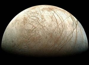 Եվրոպան` նկարված ՆԱՍԱ-ի գալիլեո արբանյակի միջոցով:CREDIT: NASA/Ted Stryk